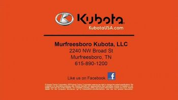 Kubota BX80 Tractor TV Spot, 'Built to Get Any Job Done' - Thumbnail 9