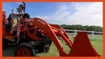 Kubota BX80 Tractor TV Spot, 'Built to Get Any Job Done' - Thumbnail 6