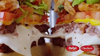 Checkers & Rally's Cheese Loaded Burger TV Spot, 'Cheese Overload' - Thumbnail 8