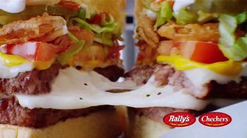 Checkers & Rally's Cheese Loaded Burger TV Spot, 'Cheese Overload'