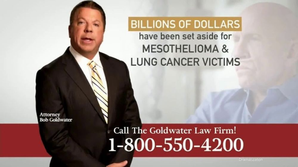 Goldwater Law Firm TV Commercial, 'Mesothelioma and Lung ...