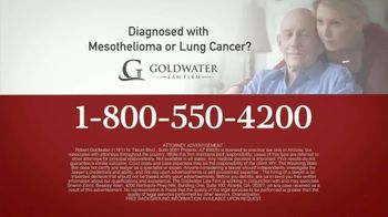 Goldwater Law Firm TV Spot, 'Mesothelioma and Lung Cancer' - Thumbnail 10