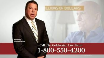 Goldwater Law Firm TV Spot, 'Mesothelioma and Lung Cancer' - Thumbnail 2
