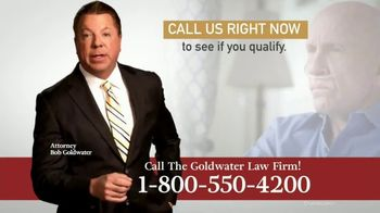 Goldwater Law Firm TV Spot, 'Mesothelioma and Lung Cancer' - Thumbnail 5