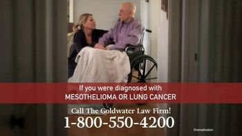Goldwater Law Firm TV Spot, 'Mesothelioma and Lung Cancer' - Thumbnail 6