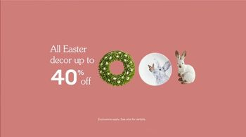 Pier 1 Imports TV Spot, 'Easter is Blooming: Easter Decor' - Thumbnail 10