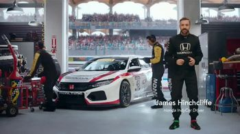 Honda Dream Garage Spring Event TV Spot, 'Racing Excitement' Featuring James Hinchcliffe [T1] - Thumbnail 1