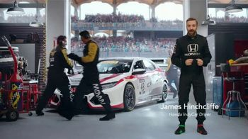 Honda Dream Garage Spring Event TV Spot, 'Racing Excitement' Featuring James Hinchcliffe [T1] - Thumbnail 2
