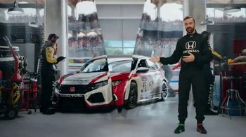 Honda Dream Garage Spring Event TV Spot, 'Racing Excitement' Featuring James Hinchcliffe [T1] - Thumbnail 4