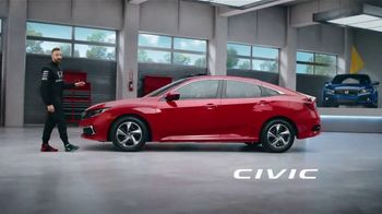 Honda Dream Garage Spring Event TV Spot, 'Racing Excitement' Featuring James Hinchcliffe [T1]
