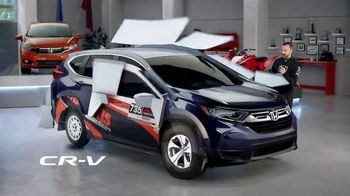 Honda Dream Garage Spring Event TV Spot, 'CR-V and HR-V' Featuring James Hinchcliffe [T1] - 2 commercial airings