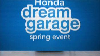 Honda Dream Garage Spring Event TV Spot, 'CR-V and HR-V' Featuring James Hinchcliffe [T1] - Thumbnail 1