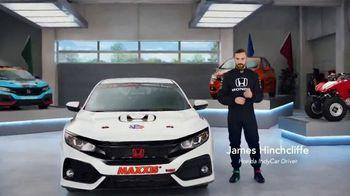Honda Dream Garage Spring Event TV Spot, 'CR-V and HR-V' Featuring James Hinchcliffe [T1] - Thumbnail 3