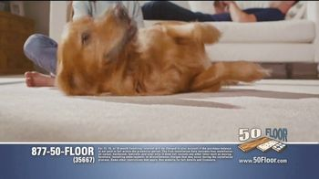 50 Floor 60% Off Sale TV Spot, 'Just for Pets' Featuring Richard Karn - Thumbnail 3