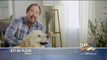 50 Floor 60% Off Sale TV Spot, 'Just for Pets' Featuring Richard Karn - Thumbnail 7