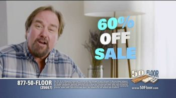 50 Floor 60 Percent Off Sale TV Spot, 'Just for Pets' Featuring Richard Karn - Thumbnail 4