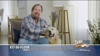 50 Floor 60 Percent Off Sale TV Spot, 'Just for Pets' Featuring Richard Karn - 46 commercial airings