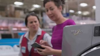 Lowe's Spring Black Friday Sale TV Spot, 'Do Laundry Right' - Thumbnail 3