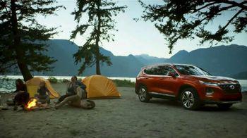 2019 Hyundai Santa Fe TV Spot, 'Camp Out in the Santa Fe' [T1] - Thumbnail 6