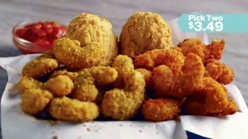 Captain D's Popcorn Shrimp TV Spot, 'Three Amazing Flavors' - Thumbnail 8