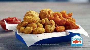 Captain D's Popcorn Shrimp TV Spot, 'Three Amazing Flavors' - Thumbnail 9