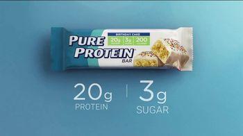 Pure Protein Birthday Cake TV Spot, 'Make Fitness Routine' - Thumbnail 9