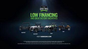 Kawasaki Good Times Sales Event TV Spot, 'Save Big' Featuring Steve Austin, Clint Bowyer - Thumbnail 10