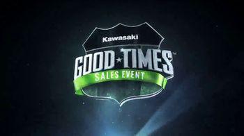 Kawasaki Good Times Sales Event TV Spot, 'Save Big' Featuring Steve Austin, Clint Bowyer - Thumbnail 8