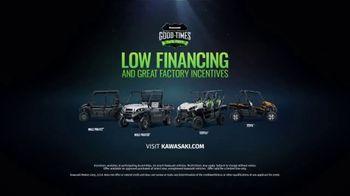 Kawasaki Good Times Sales Event TV Spot, 'Save Big' Featuring Steve Austin, Clint Bowyer - Thumbnail 9