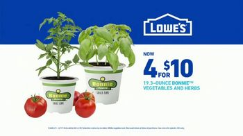 Lowe's Spring Black Friday Sale TV Spot, 'Spring: Bonnie Vegetables and Herbs' - Thumbnail 9