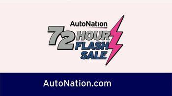 AutoNation 72 Hour Flash Sale TV Spot, 'Supercharged Savings on Every Vehicle' - Thumbnail 3