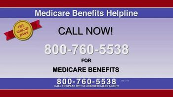 Medicare Benefits Helpline TV Spot, 'Free Medicare Review' - Thumbnail 4
