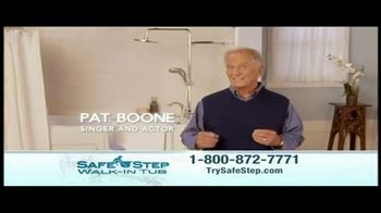 Safe Step Shower Package TV Spot, 'Upgrade' Featuring Pat Boone - Thumbnail 2