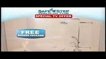 Safe Step Shower Package TV Spot, 'Upgrade' Featuring Pat Boone - Thumbnail 4