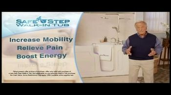 Safe Step Shower Package TV Spot, 'Upgrade' Featuring Pat Boone - Thumbnail 8