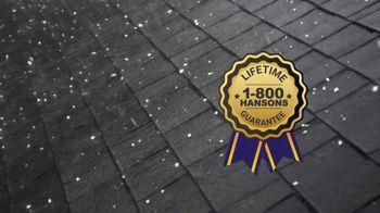 1-800-HANSONS TV Spot, 'Lifetime Guarantee: Roof' - Thumbnail 4
