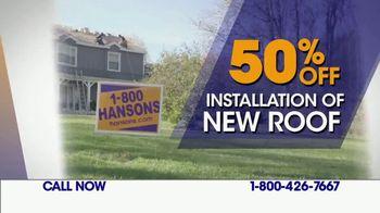 1-800-HANSONS TV Spot, 'Lifetime Guarantee: Roof' - Thumbnail 9