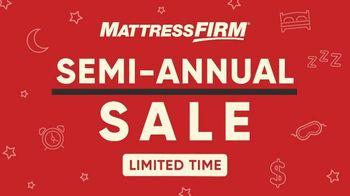 Mattress Firm Semi-Annual Sale TV Spot, 'Beautyrest Black Hybrid' - Thumbnail 1