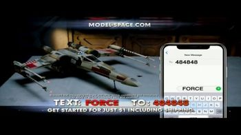 Model Space Star Wars Build Your Own X-Wing TV Spot, 'Legendary' Song by John Williams - Thumbnail 10