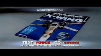 Model Space Star Wars Build Your Own X-Wing TV Spot, 'Legendary' Song by John Williams - Thumbnail 2