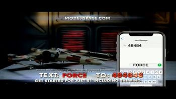 Model Space Star Wars Build Your Own X-Wing TV Spot, 'Legendary' Song by John Williams - Thumbnail 3