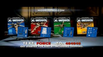 Model Space Star Wars Build Your Own X-Wing TV Spot, 'Legendary' Song by John Williams - Thumbnail 4