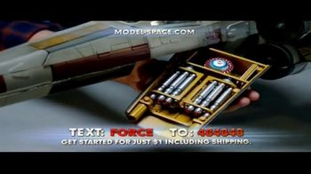 Model Space Star Wars Build Your Own X-Wing TV Spot, 'Legendary' Song by John Williams - Thumbnail 5