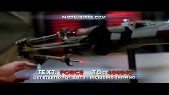 Model Space Star Wars Build Your Own X-Wing TV Spot, 'Legendary' Song by John Williams - Thumbnail 6