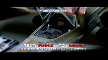 Model Space Star Wars Build Your Own X-Wing TV Spot, 'Legendary' Song by John Williams - Thumbnail 7