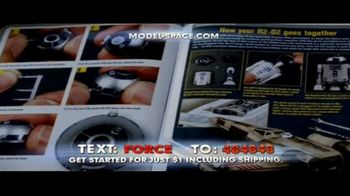 Model Space Star Wars Build Your Own X-Wing TV Spot, 'Legendary' Song by John Williams - Thumbnail 8