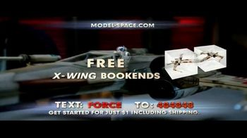Model Space Star Wars Build Your Own X-Wing TV Spot, 'Legendary' Song by John Williams - Thumbnail 9