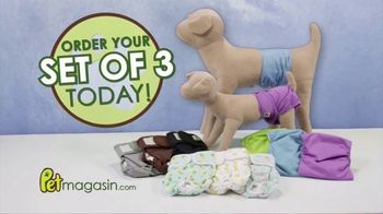 Pet Magasin Durable Washable Dog Diapers TV Spot, 'Protect Floors' - Thumbnail 9