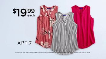 Kohl's Friends and Family Sale TV Spot, 'Savings Add Up: Tops and Comforters' - Thumbnail 4