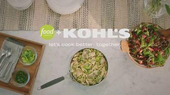 Kohl's TV Spot, 'Food Network: Weeknight Dinners' Featuring Bev Weidner - Thumbnail 10